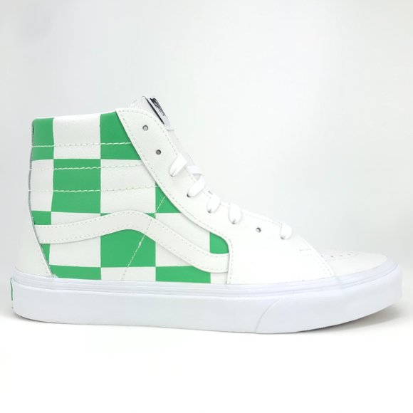 Vans SK8 Hi Leather Checkboard VN0A4BV6TS9